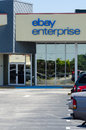 Ebay enterprise in melbourne florida front of the building fl taken Royalty Free Stock Photo