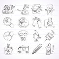 Ebola pandemic icons vector icon set Stock Image