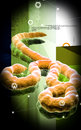 Ebola virus Royalty Free Stock Image