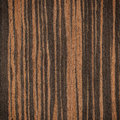 Ebony wood texture or background Stock Photography