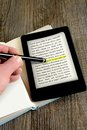 Ebook reader Royalty Free Stock Photo