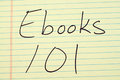 Ebooks 101 On A Yellow Legal Pad