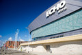Echo arena in liverpool sep on september england united kingdom is one of the most sustainable venues europe Royalty Free Stock Photography