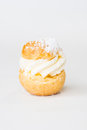 Eclair mini on isolated white background Royalty Free Stock Photography