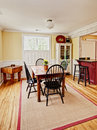 Eclectic diningroom Stock Photography