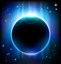 Eclipse background Royalty Free Stock Image