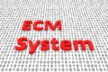 Ecm system Royalty Free Stock Photo