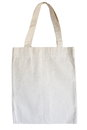 Eco bag cotton isolated on white background Royalty Free Stock Photography