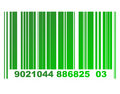 Eco bar code Stock Images