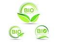Eco Bio Leaf Icon
