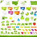 Eco Collection Design Elements Stock Photos