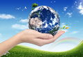 ECO Concept (globe) Royalty Free Stock Image