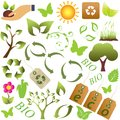 Eco and environment symbols Stock Photo