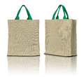 Eco fabric bag Royalty Free Stock Photo