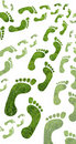 Eco footprint Stock Photography