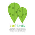 Eco friendly concept vector illustration Royalty Free Stock Photo