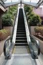 Eco friendly escalator Royalty Free Stock Image