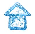Eco friendly house Stock Photography