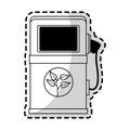 eco friendly icon image Royalty Free Stock Photo