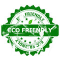 Eco friendly stamp Royalty Free Stock Photo