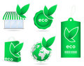 Eco friendly template icon Royalty Free Stock Photos