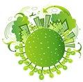 Eco friendly world Royalty Free Stock Photos