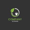Eco fuel sign corporate identity.