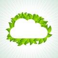 Eco green concept environmental idea Royalty Free Stock Photography