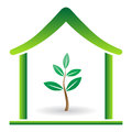Eco home Stock Photos