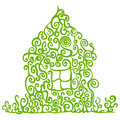Eco home Royalty Free Stock Photos