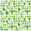 Eco icons design over white background illustration Stock Image