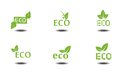 Eco icons this is file of eps format Royalty Free Stock Photo