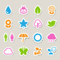 Eco icons set elements of this image furnished by nasa Stock Photos