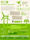 Eco infographic elements opportunity to highlight any country vector illustration eps Stock Images