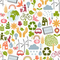 Eco pattern Stock Image