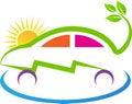 Eco power car Royalty Free Stock Photo