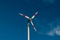 Eco power wind turbines in thailand Royalty Free Stock Photography