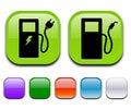 Eco pump icon Royalty Free Stock Photo