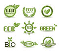 Eco Signs Royalty Free Stock Photo