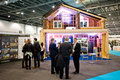 Ecobuild 2013 in London Royalty Free Stock Photography