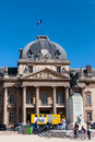 The Ecole Militaire (Military School) Stock Image