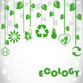 Ecological background Stock Photography