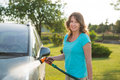 Ecological car wash Royalty Free Stock Photo