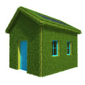 Ecological House Royalty Free Stock Photo