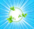 Ecology background vector Royalty Free Stock Photo