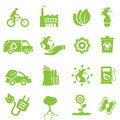 Ecology and environment icons Royalty Free Stock Photos