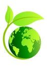 Ecology globe