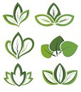 Ecology icon set Stock Photo