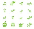Ecology icon set. Royalty Free Stock Photo