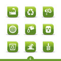 Ecology icons 4..smooth series Royalty Free Stock Photo